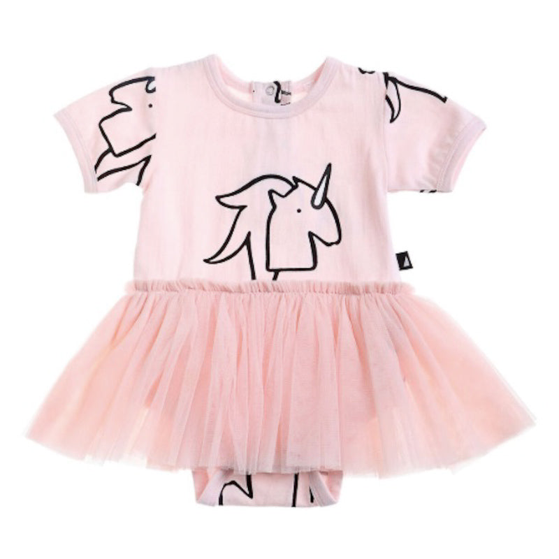 Minti Unicorn Pinata Playsuit - Ballet