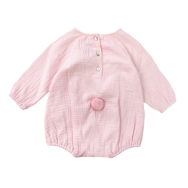 Bebe Amelia Bunny Playsuit - Blush