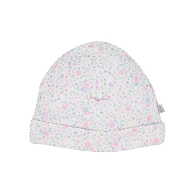 Bebe Annie Floral Beanie with Band - Floral Print Beanies Bebe - Little Styles