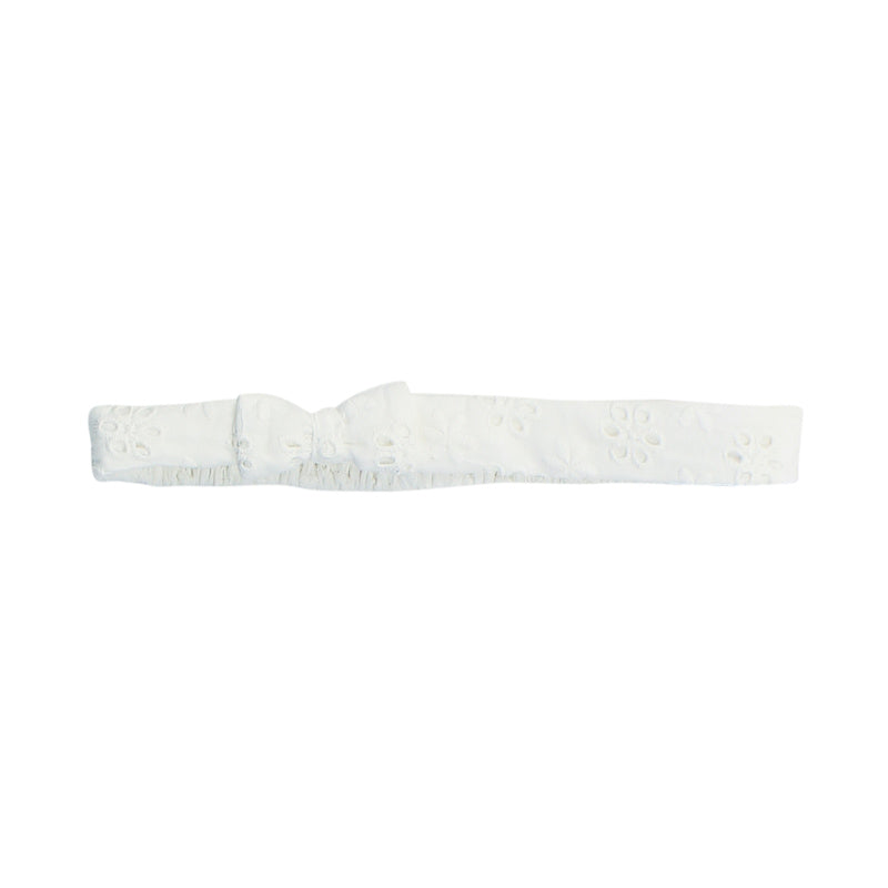 Bebe Betty Broiderie Headband - Cloud Accessories Bebe - Little Styles