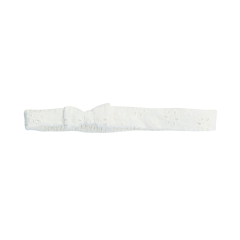 Bebe Betty Broiderie Headband - Cloud