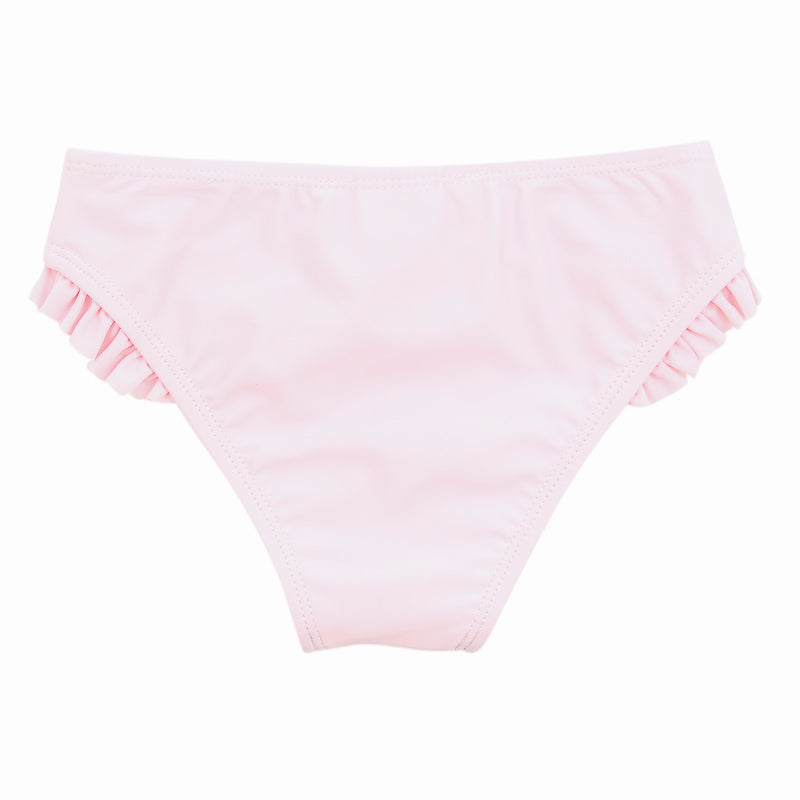 Bebe Emma Plain Bikini Bottom - Pink Angel Swimwear Bebe - Little Styles