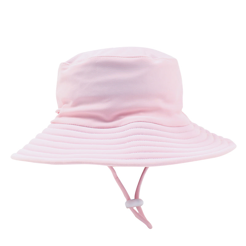 Bebe Emma Plain Sun Hat - Pink Angel Hats and Beanies Bebe - Little Styles