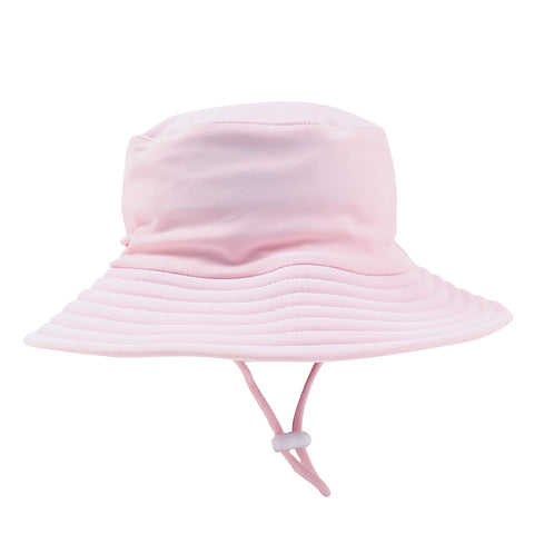 Bebe Emma Plain Sun Hat - Pink Angel