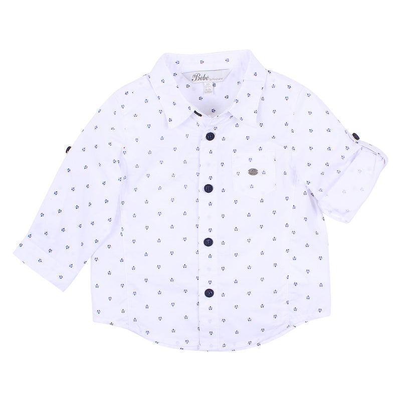 Bebe Hudson Crown Shirt - White