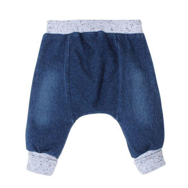 Fox & Finch Baby Knit Denim Blue