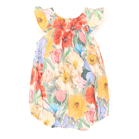 Fox & Finch Baby Maui Cold Shoulder Dress - Maui Print