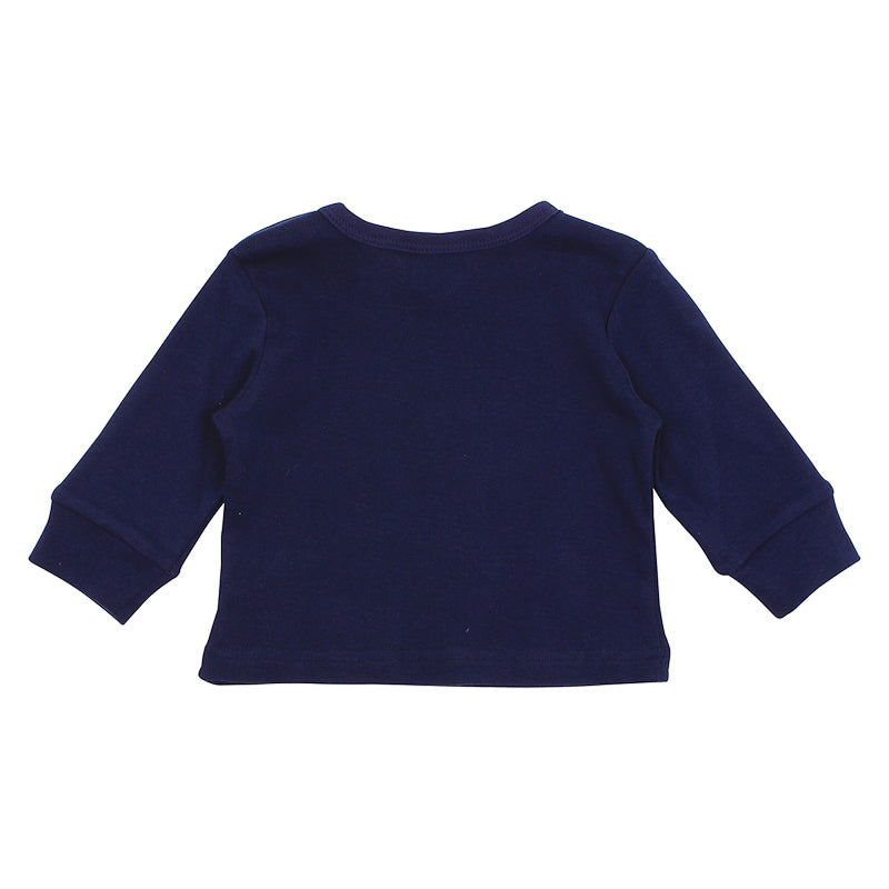 Bebe Magnus City Balloon Tee - Navy