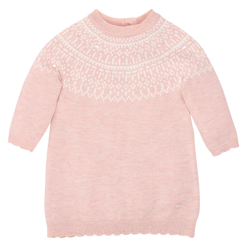Bebe Viola Knit Dress - Pink Marle