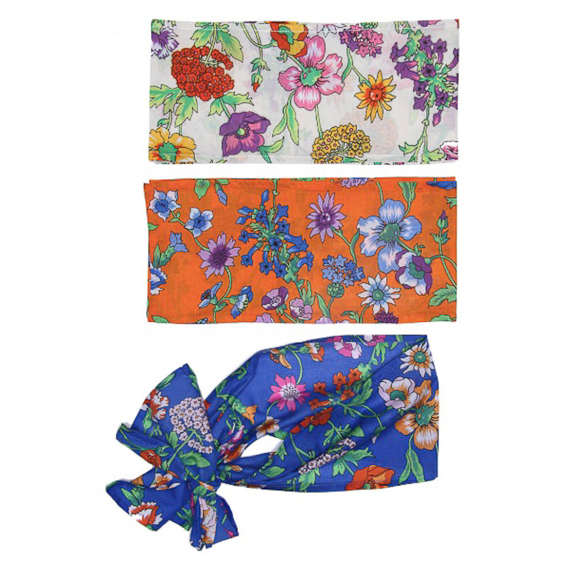 Coco and Ginger Belt/ Sash Azure Fiore Accessories Coco and Ginger - Little Styles