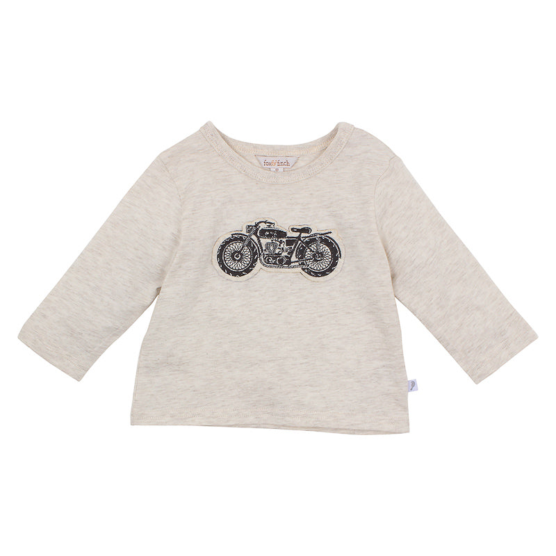 Fox & Finch Baby Cruiser Motorcycle Tee