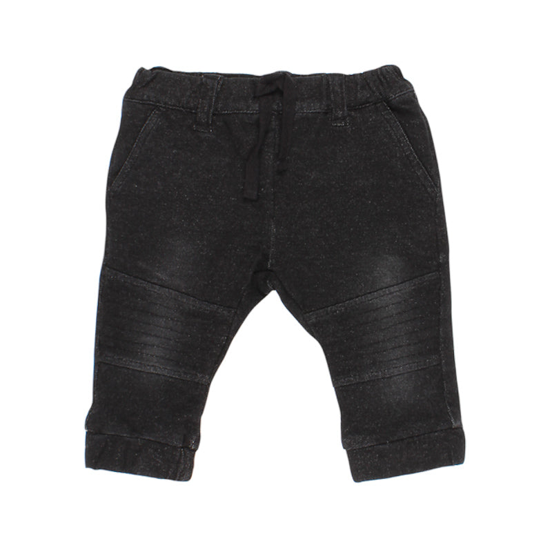 Fox & Finch Baby Denim Jean in Black Pants Fox & Finch Baby - Little Styles