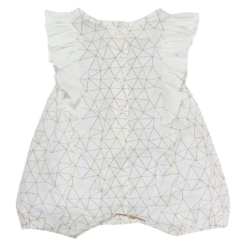 Fox & Finch Baby High Tea Geo Romper