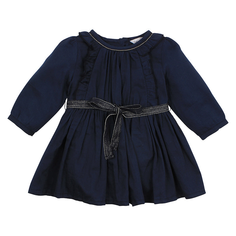 Fox & Finch Baby Nordic Dress - Prince Navy