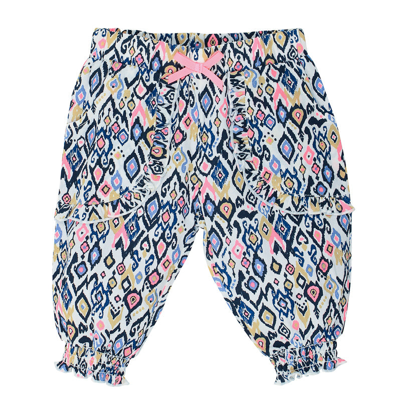 Fox & Finch Baby Kindred Cuffed Pants - Ikat Print Pants Fox & Finch Baby - Little Styles