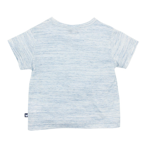 Fox & Finch Baby Moby 'Pirate Fox' Tee - Navy Marle