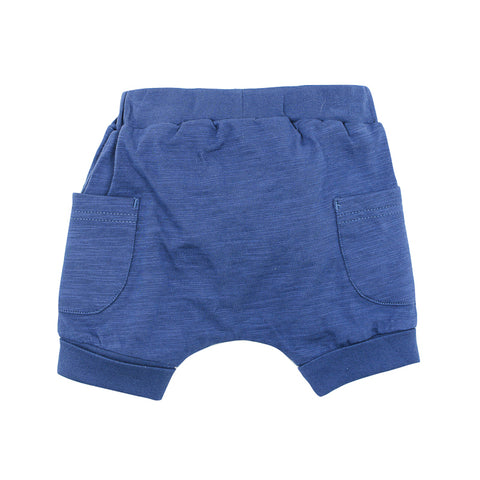 Fox & Finch Baby Moby Short - Blue Storm