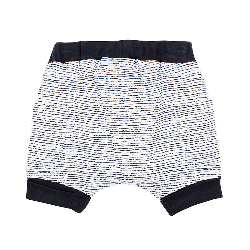 Fox & Finch Safari Stripe Short - Zebra Stripe Shorts Fox & Finch Baby - Little Styles