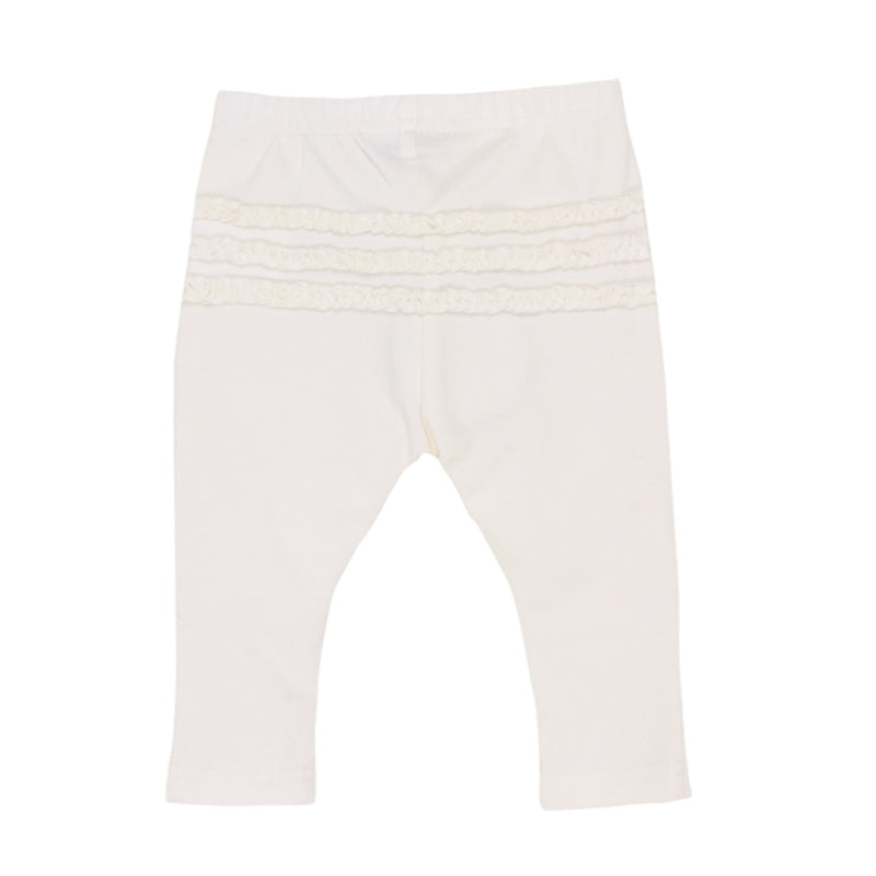 Fox & Finch Baby Galaxy Legging - Cloud White Pants Fox & Finch Baby - Little Styles