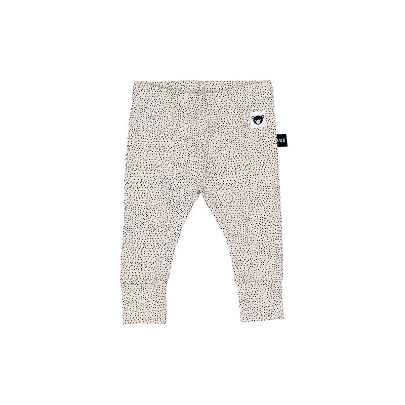 Huxbaby Fleck Skinny Legging - Almond Leggings Huxbaby - Little Styles