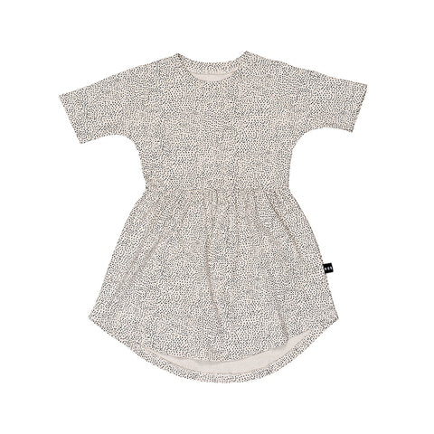 Huxbaby Fleck Swirl Dress - Almond