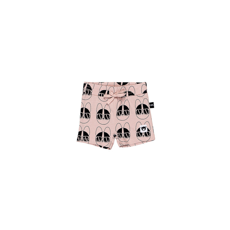 Huxbaby French Shades Sporty Shorts - Rose Dust Shorts Huxbaby - Little Styles