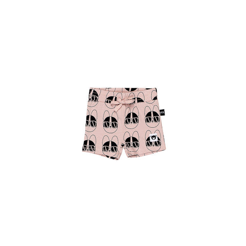 Huxbaby French Shades Sporty Shorts - Rose Dust