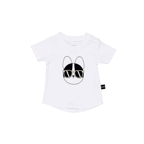 Huxbaby French Shades T- Shirt - White