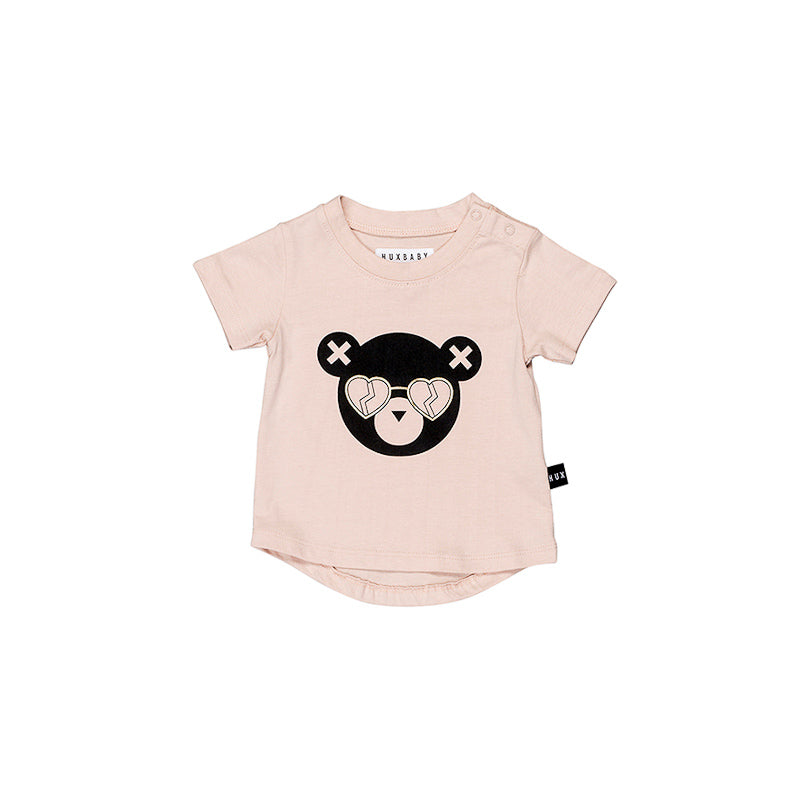 Huxbaby Heart Shades T- Shirt - Petal Tops Huxbaby - Little Styles
