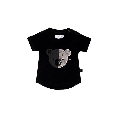 Huxbaby Robo Bear T - Shirt - Black