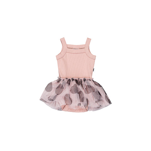 Huxbaby Summer Ballet Dress - Rose