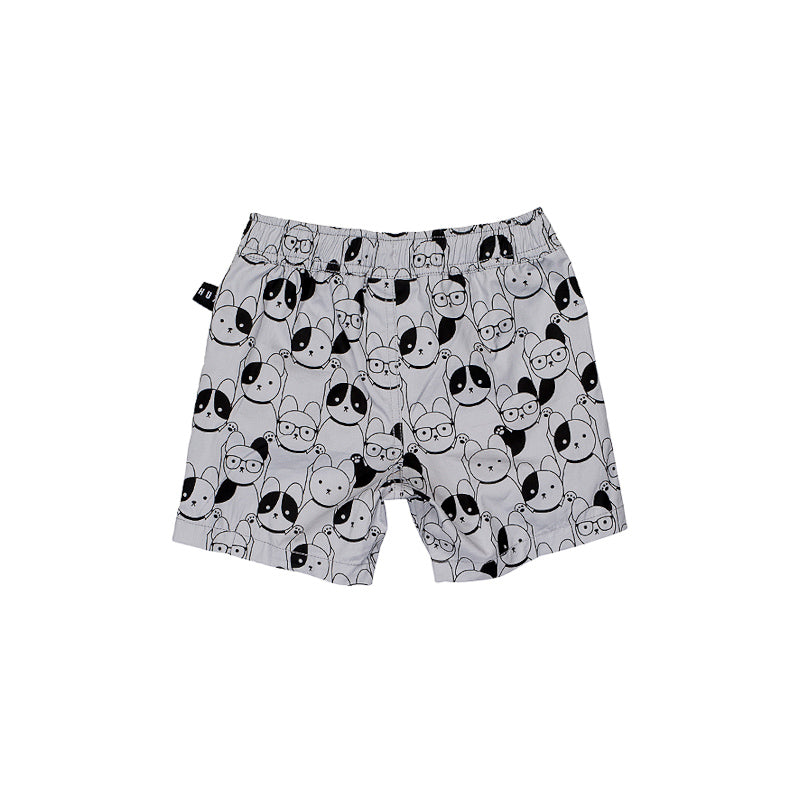 Huxbaby Swim Short - Light Grey Shorts Huxbaby - Little Styles