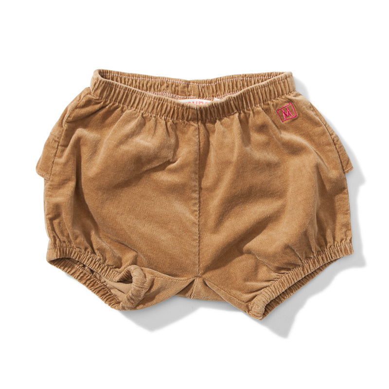 Lil Missie Chive Cord Short - Camel Shorts Munster - Little Styles