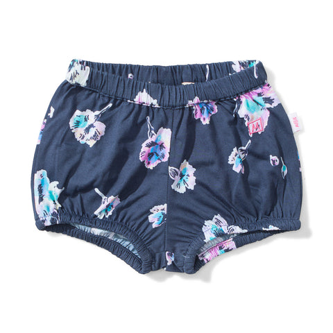 Lil Missie Song Jersey Short - Water Floral