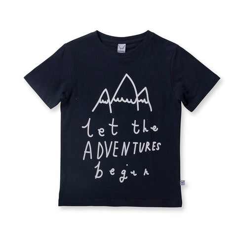 Littlehorn Adventures Tee - Dark Blue