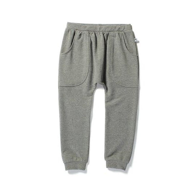 Littlehorn Basic Harem Pant - Charcoal Pants Littlehorn - Little Styles