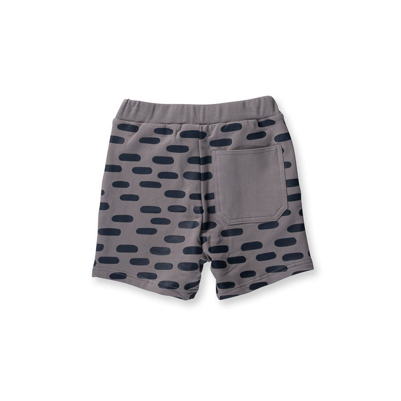 Littlehorn Dash Sweat Short - Slate Shorts Littlehorn - Little Styles