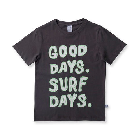 Littlehorn Good Days Tee - Oil