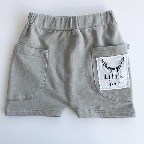 Littlehorn Grey Shorts