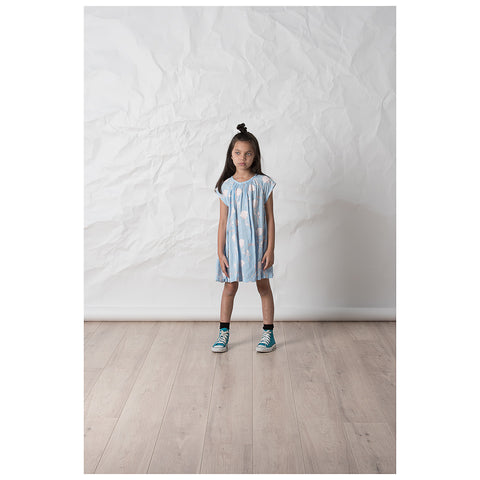 Littlehorn Super Woven Dress - Light Blue