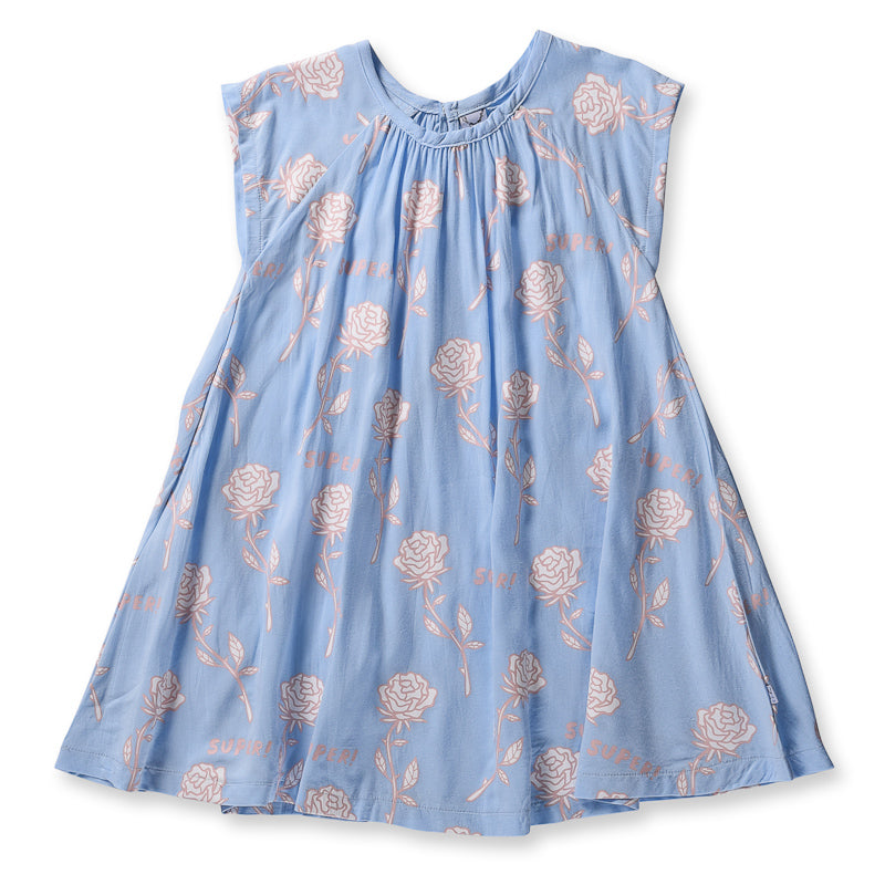 Littlehorn Super Woven Dress - Light Blue Dresses Littlehorn - Little Styles