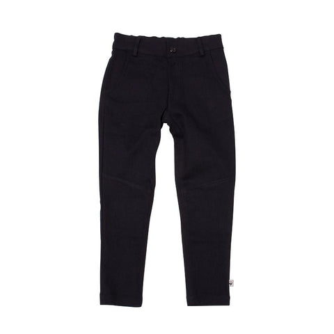 Milk & Masuki Twill Pants - Black