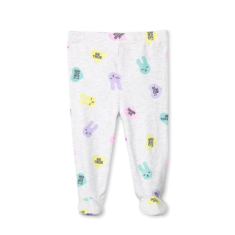 Milky Bunny Pant - Silver Marle