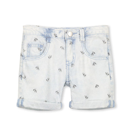 Milky Chambray Short - Chambray