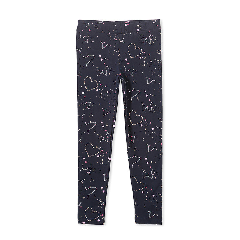 Milky Constellation Legging - French Navy Pants Milky - Little Styles