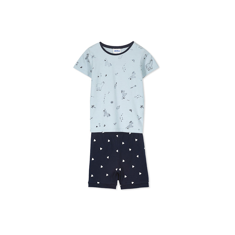 Milky Pinata Pyjamas - Cool Green Pyjamas Milky - Little Styles