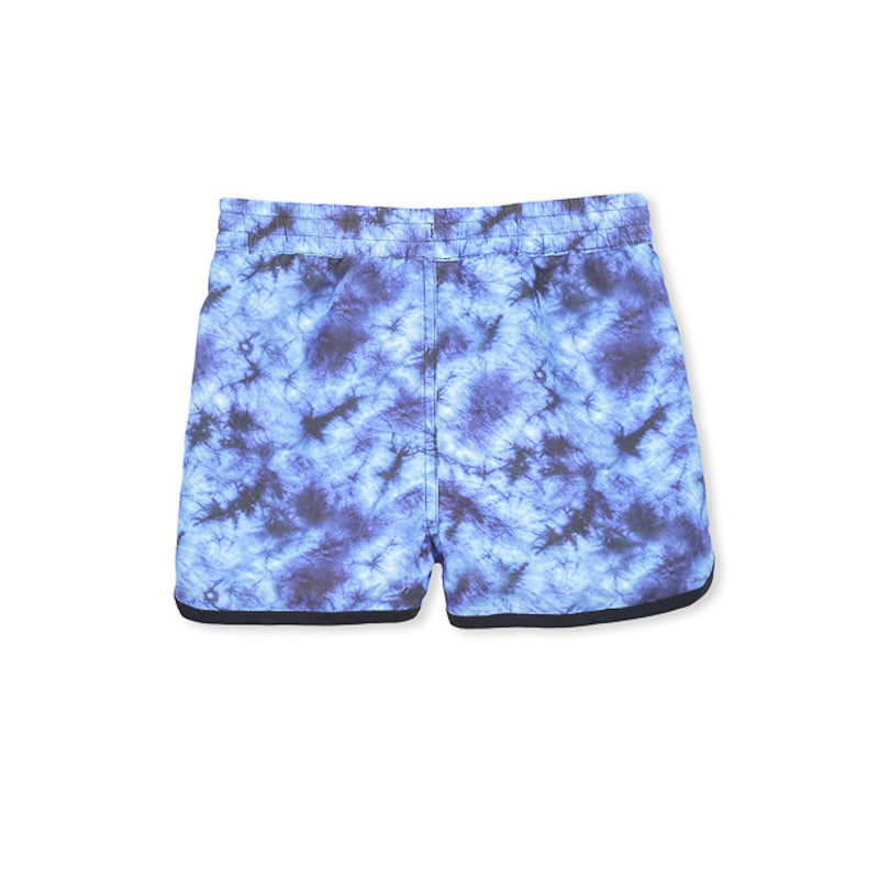 Milky Tie Dye Boardie - Blue Swimwear Milky - Little Styles