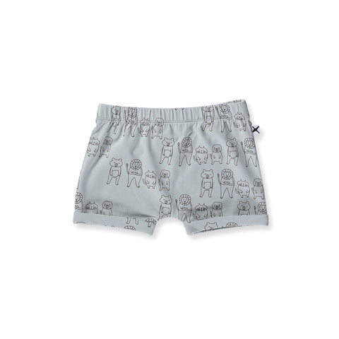 Minti Baby Animal Mates Short - Muted Green