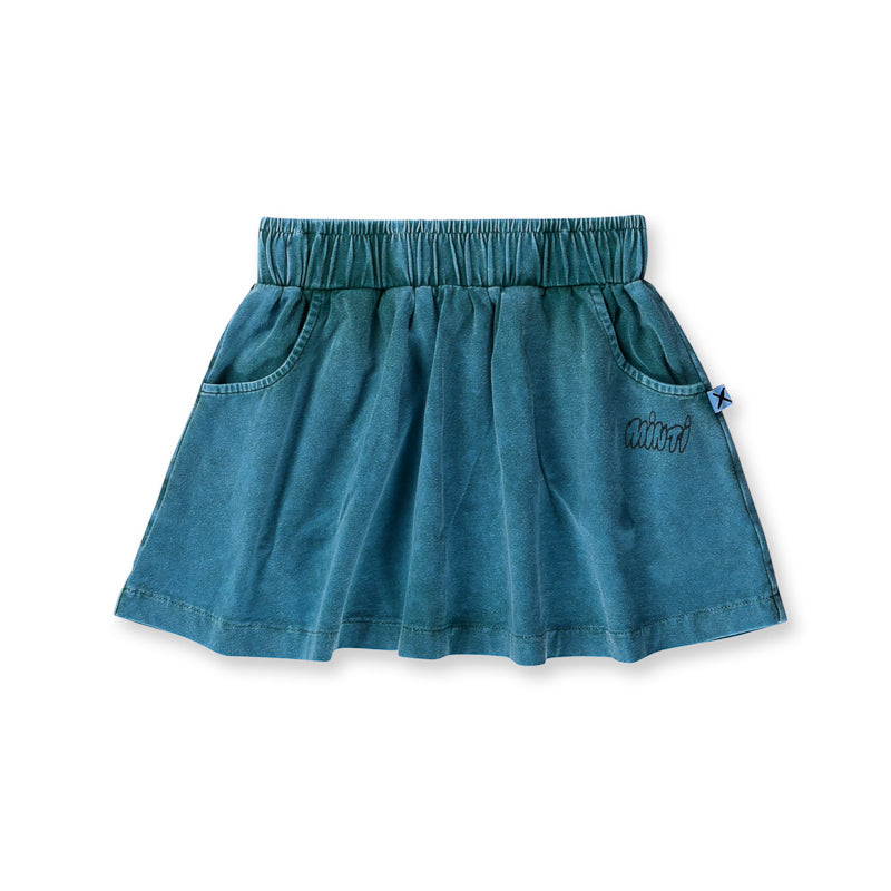 Minti Blasted Skirt - Forest Wash Skirts Minti - Little Styles