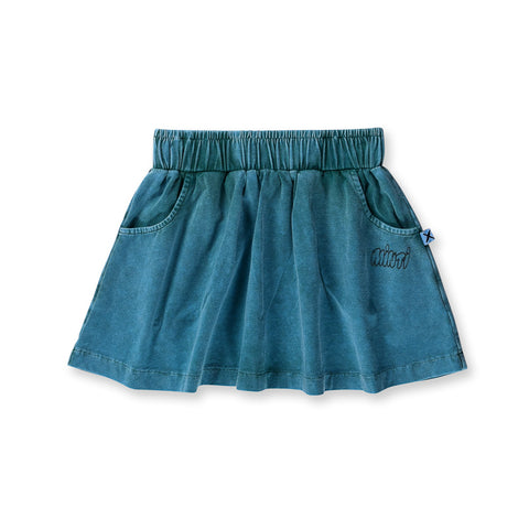 Minti Blasted Skirt - Forest Wash